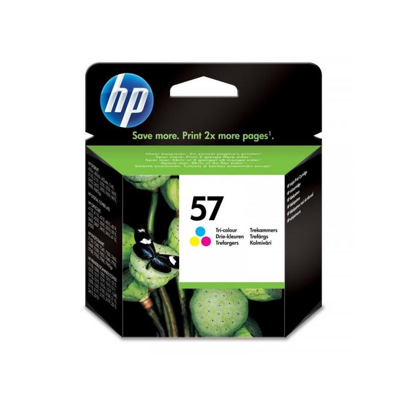 Картридж струйный HP 57 C6657AE цветной оригинальный