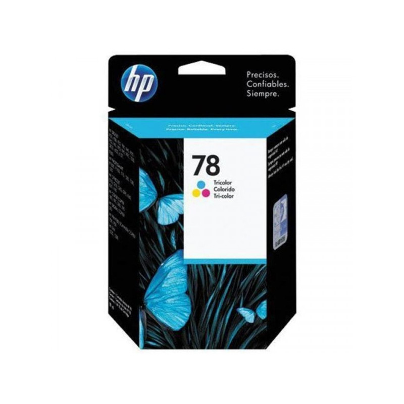 Картридж струйный HP 78 C6578D цветной оригинальный
