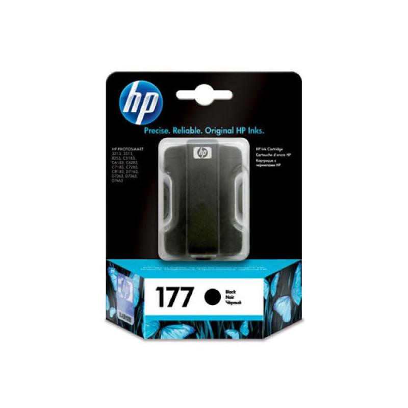 Картридж струйный HP 177 C8721HE черный оригинальный