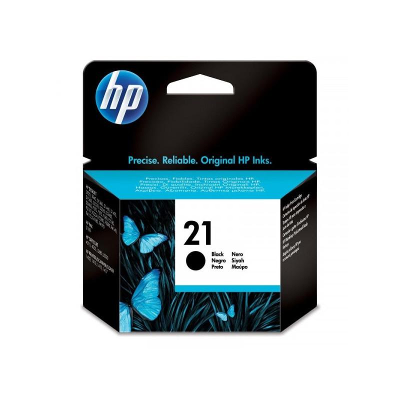 Картридж струйный HP 21 C9351AE черный оригинальный
