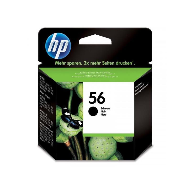 Картридж струйный HP 56 C6656A черный оригинальный