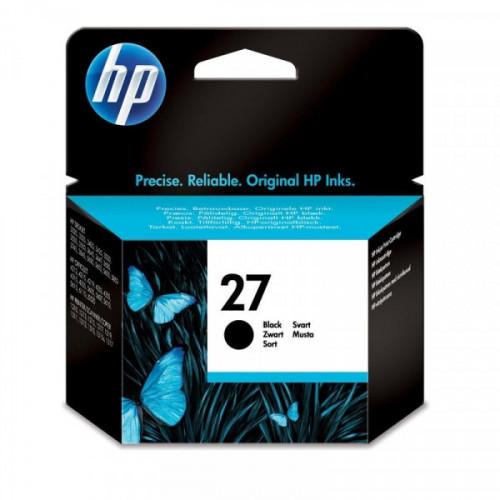 Картридж струйный HP 27 C8727A черный оригинальный