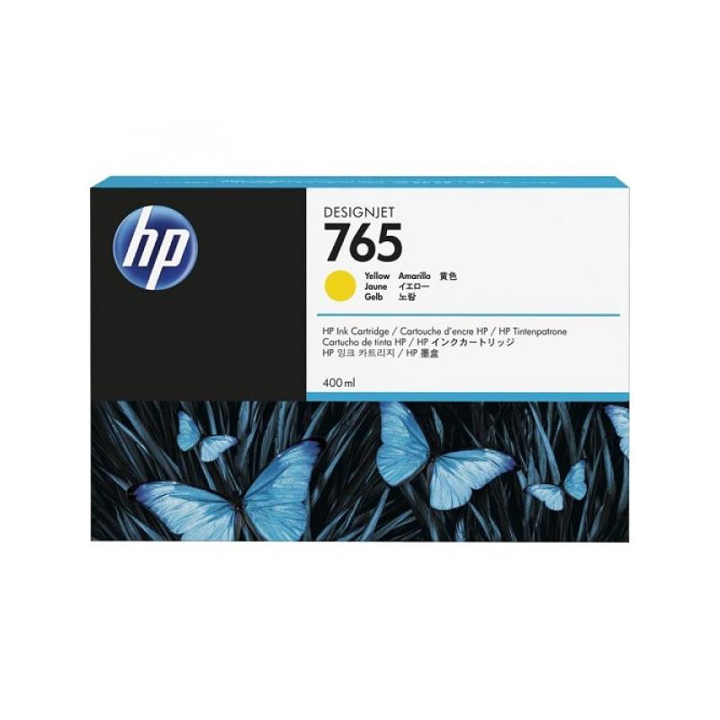 Картридж струйный HP 765 F9J50A жел. для HP DJ T7200