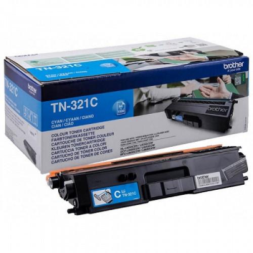 Картридж Brother TN321C голубой (1500стр.) для Brother HL-L8250CDN/MFC-L8650CDW
