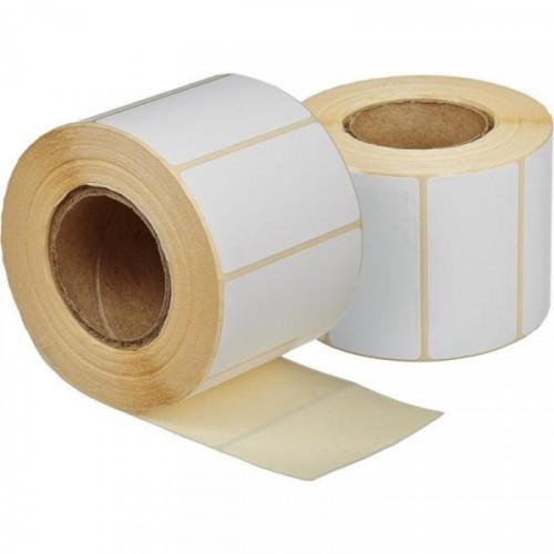 Термоэтикетки 58х30 эко без печати 900 штук/рулон 24 рулонов/упаковка