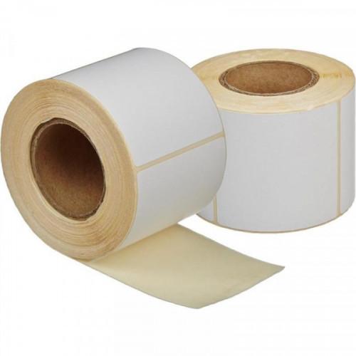 Термоэтикетки 58х60 мм эко без печати 450 штук/рулон 24 рулонов/упаковка