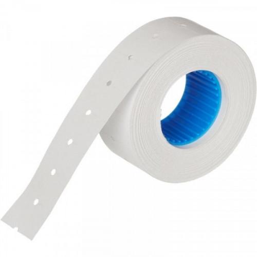 Этикет-лента 21,5х12 мм белая прямоугольная 1000 штук/рулон 10 рулонов/упаковка