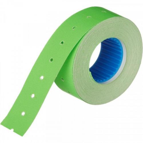 Этикет-лента 21,5х12 мм зеленая прямоугольная 1000 штук/рулон 10 рулонов/упаковка