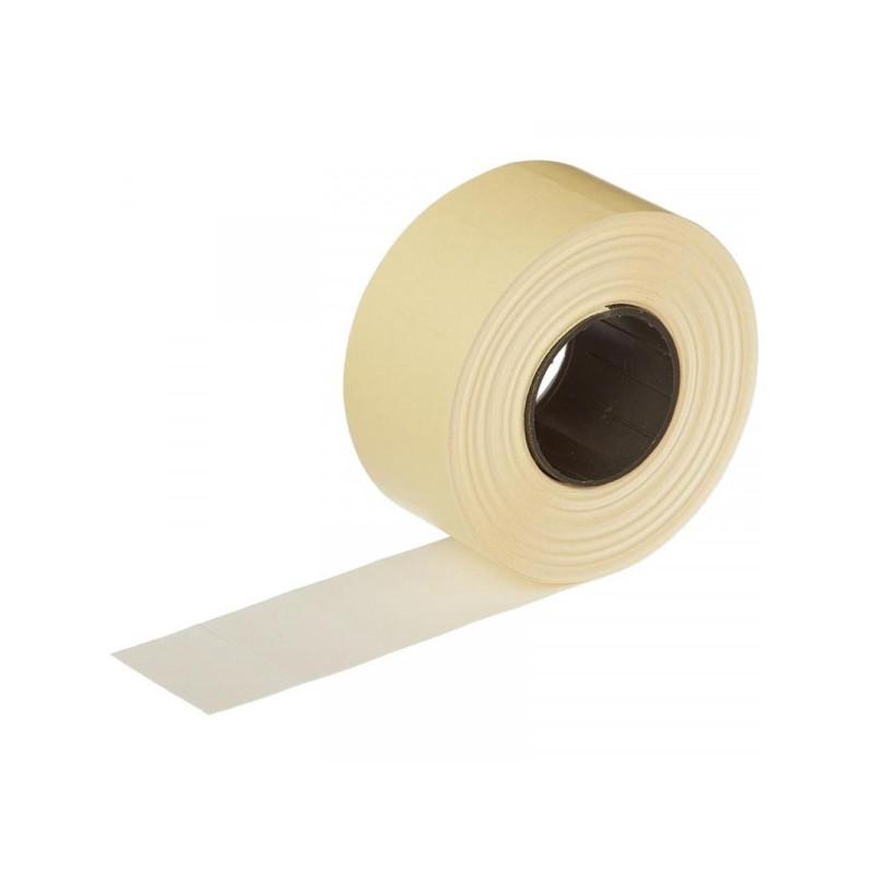 Этикет-лента 26х16 мм белая прямоугольная 1000 штук/рулон 10 рулонов/упаковка