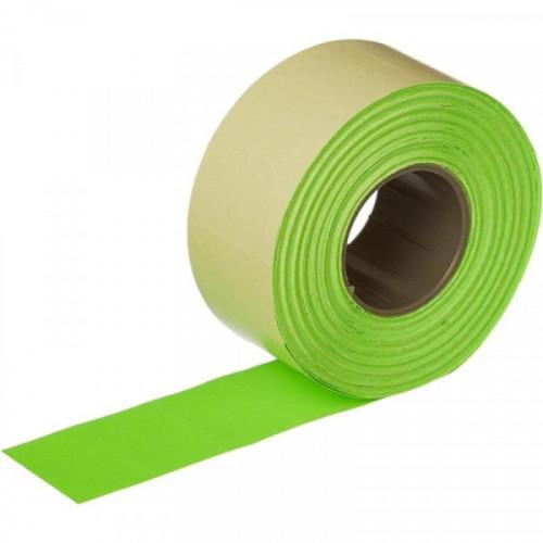 Этикет-лента 26х16 мм зеленая прямоугольная 1000 штук/рулон 10 рулонов/упаковка