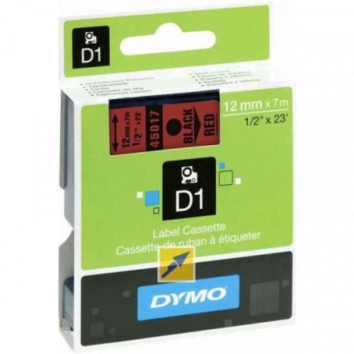Картридж к принтеру DYMO LM150 и LP350 12 мм х 7 м черный/красный пластик