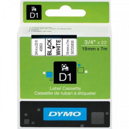 Картридж к принтеру DYMO LP350 19 мм х 7 м черный/белый пластик
