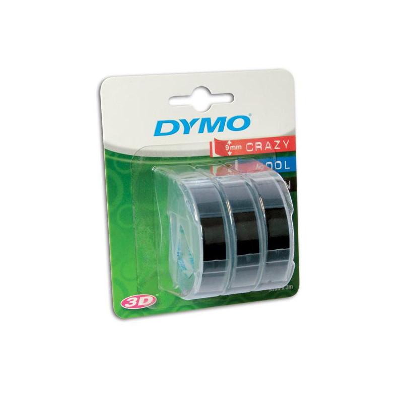 Картридж к принтеру DYMO Omega 9 мм х 3 м 3 рулона белый/черный