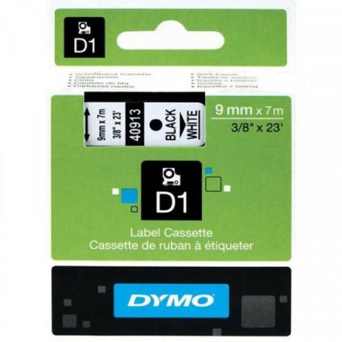Картридж для DYMO LM150 LP350 9 мм х 7 м черый/белый пластик