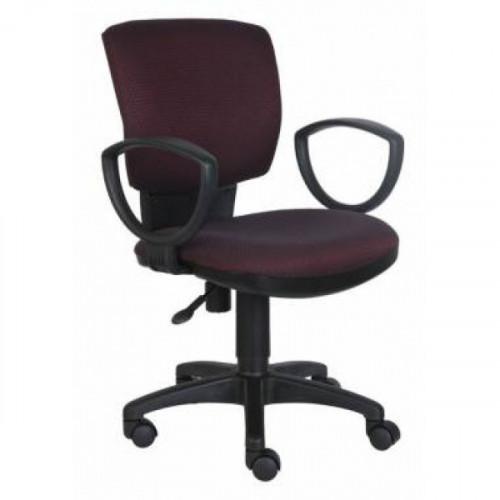 Кресло CH-626AXSN/V-02 бордово-черный ромбик ткань V-02