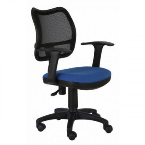 Кресло CH-797AXSN/26-21 черно-синее