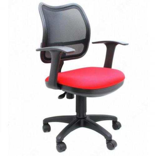Кресло CH-797AXSN/26-22 черно-красное