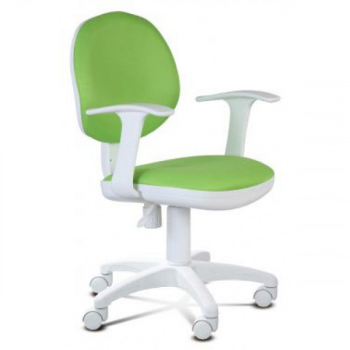 Кресло CH-W356AXSN/15-118 бело-салатовое