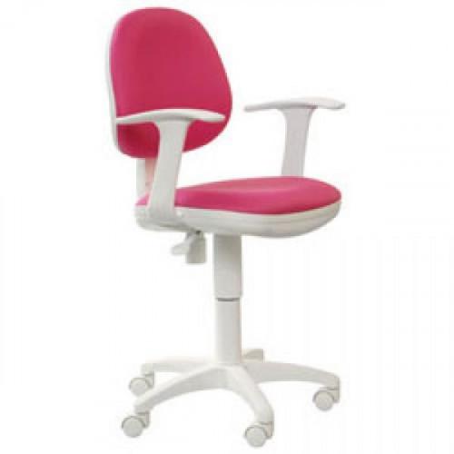 Кресло CH-W356AXSN/15-55 бело-розовое