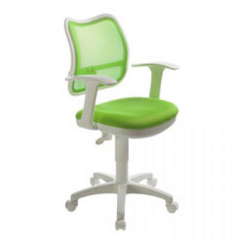 Кресло CH-W797/SD/TW-18 салатово-белое