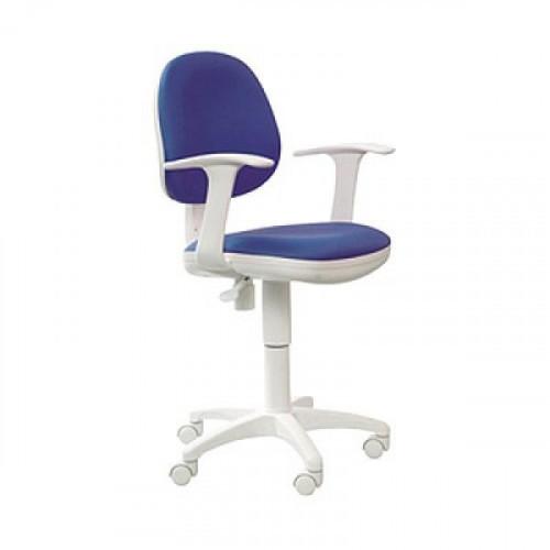 Кресло CH-W356AXSN/15-10 бело-темно-синий