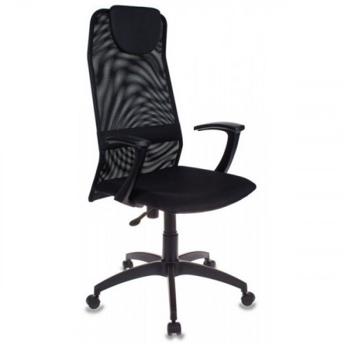 Кресло руководителя Бюрократ KB-8/BLACK черный TW-01 TW-11 сетка