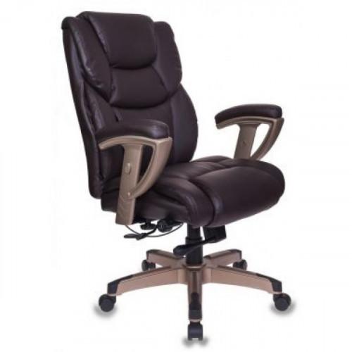 Кресло руководителя Бюрократ T-9999/BROWN коричневый
