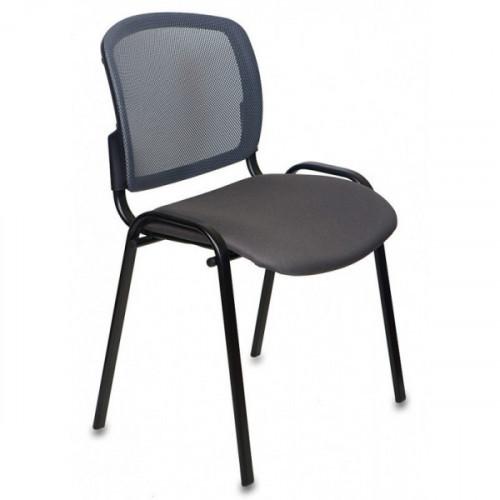 Стул Бюрократ Вики/DG/15-13 спинка темно-серый сетка сиденье серый 15-13