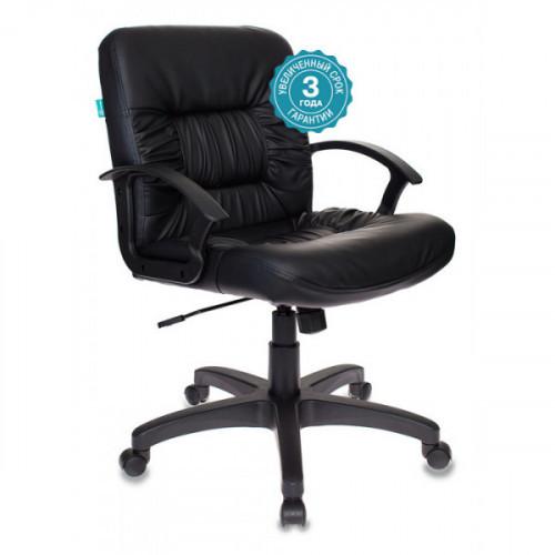 Кресло Бюрократ KB-7/BLACK черный искусственная кожа