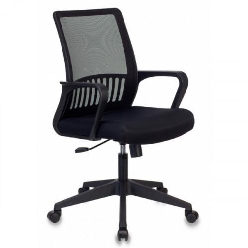 Кресло Бюрократ MC-201/TW-11 спинка сетка черный TW-11