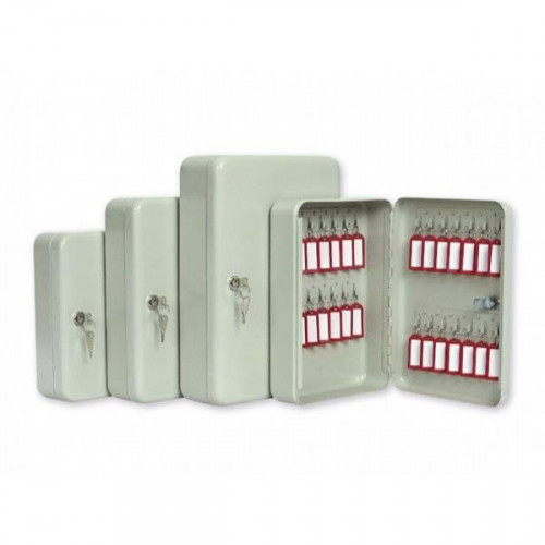 Металлический шкаф для 20 ключей Office-Force 20080 160х80х200 мм серый