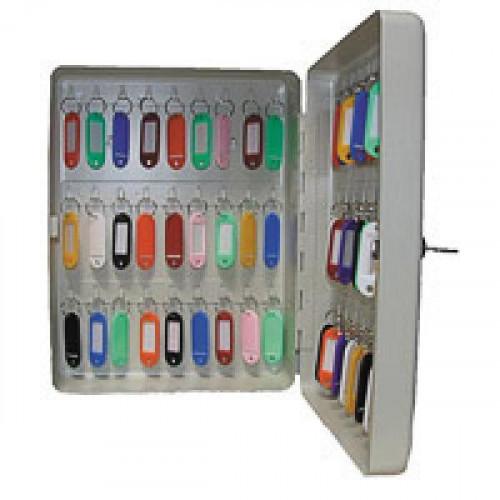 Шкаф для ключей Shuh RU KB-50 серый (на 50 ключей, металл)