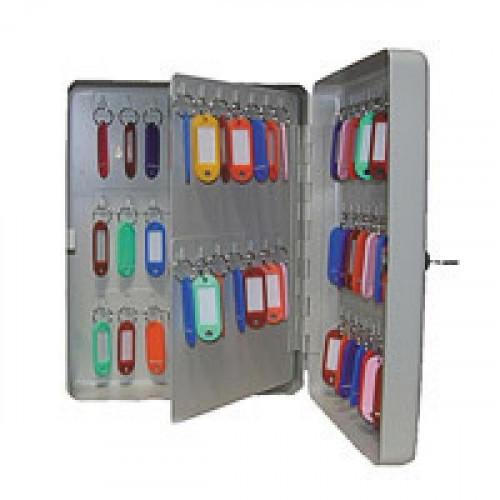 Шкаф для ключей Shuh RU KB-70 серый (на 70 ключей, металл)