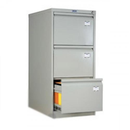 Шкаф картотечный ПРАКТИК AFC-03 470х630х1020 мм на 3 секции для А4