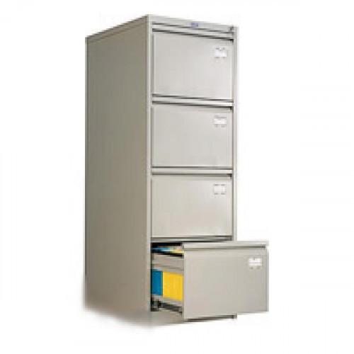 Шкаф картотечный AFC-04 470х1321х622 мм 4 секции