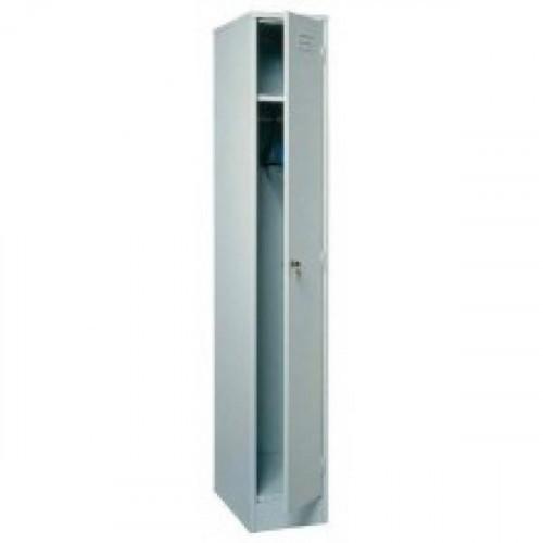 Металлический шкаф для одежды ШРМ11 300х500х1860 мм 1 отделение