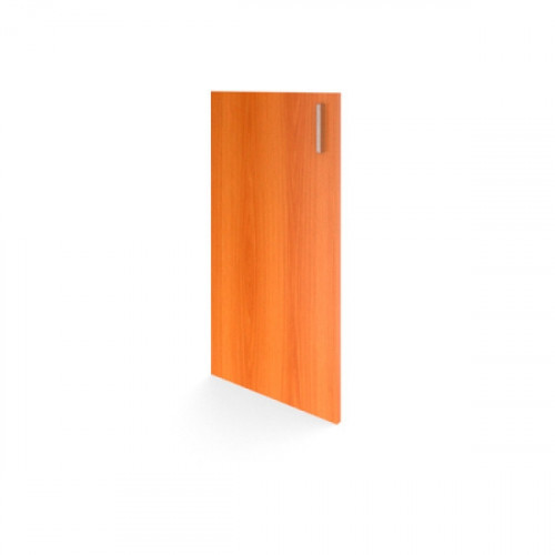 Дверь низкая 420х720х16 мм Авантаж цвета Миланский Орех