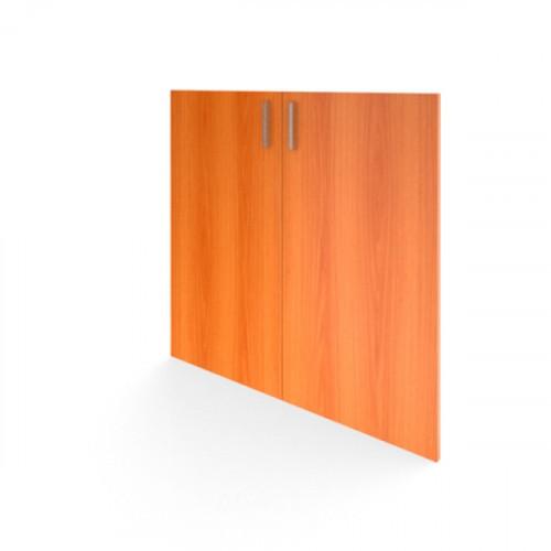 Комплект дверей низких 710х720х16 мм Авантаж цвета Миланский Орех