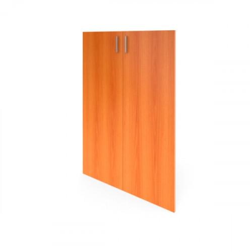 Комплект дверей средних 710х1100х16 мм Авантаж цвета Миланский орех