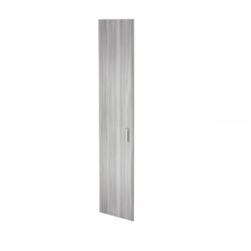 Дверь высокая из ЛДСП 1948х390х16 мм Аргентум цвета Лиственница