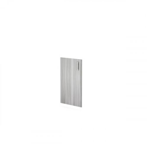 Дверь низкая из ЛДСП 764х390х16 мм Аргентум цветом Лиственница