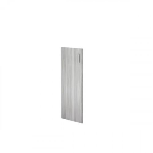 Дверь средняя из ЛДСП 1180х390х16 мм Аргентум цвета Лиственница