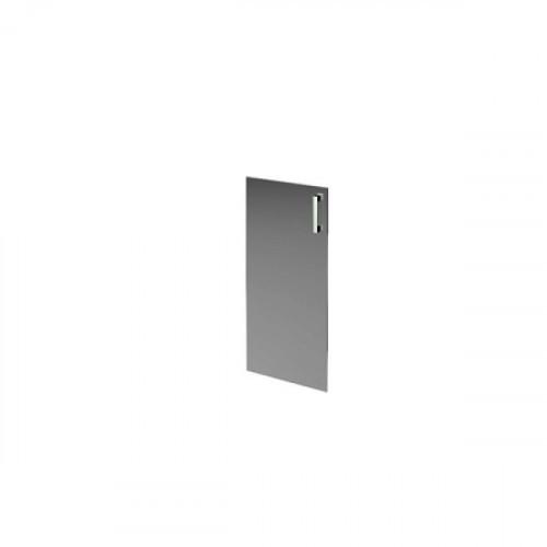 Дверь средняя стеклянная 1180х390х4 мм Аргентум
