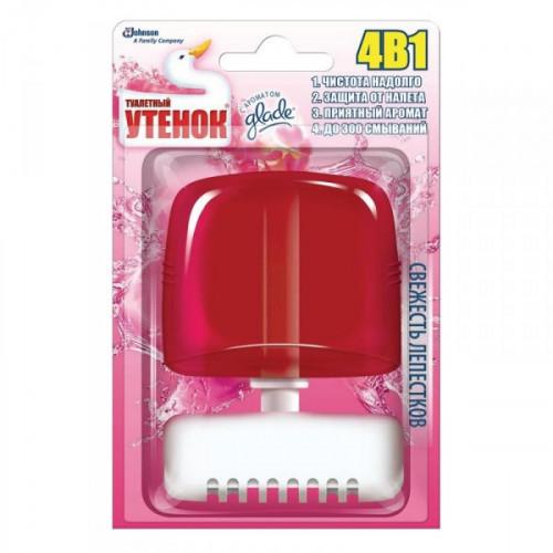 Гигиенический блок для унитаза Туалетный утенок гель в ассортименте 55 мл