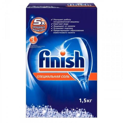 Соль от накипи для посудомоечных машин Finish 1.5 кг
