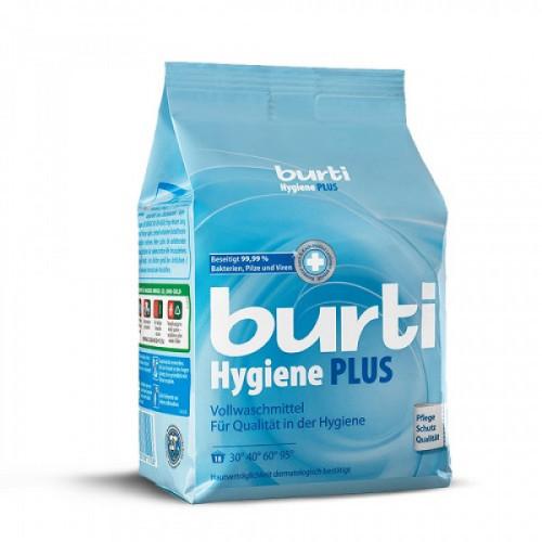 Стиральный порошок BURTI Hygiene Plus для белого белья с дезинфицирующим эффектом 1,1 кг