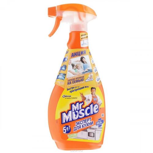 Чистящее средство для кухни Мистер Мускул спрей 500 мл