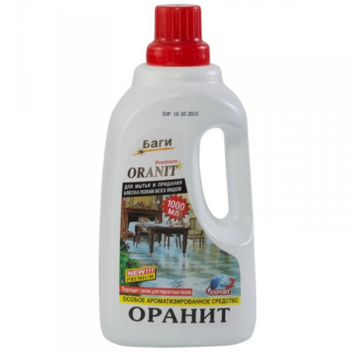 Средство для мытья полов Bagi Оранит концентрат 3л