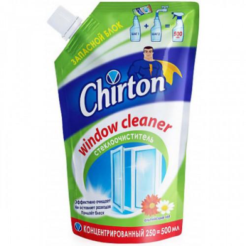 "Средство для мытья стёкол концентрированное Chirton ""Альпийский Луг"" 250 мл пакет"