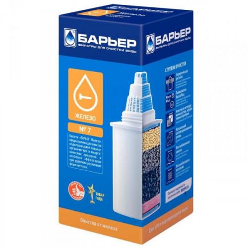 Картридж Барьер-7 для воды с повышенным содержанием железа 1 штука в упаковке